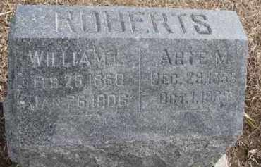 ROBERTS, WILLIAM L. - Dixon County, Nebraska   WILLIAM L. ROBERTS - Nebraska Gravestone Photos