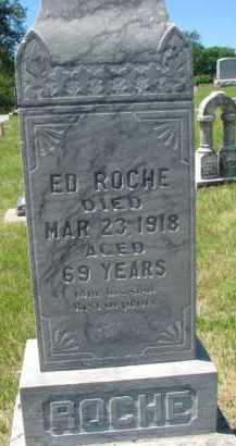 ROCHE, ED - Dixon County, Nebraska | ED ROCHE - Nebraska Gravestone Photos