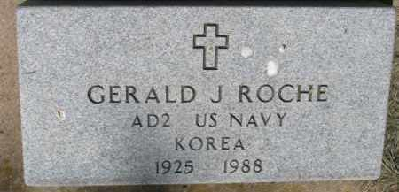 ROCHE, GERALD J. - Dixon County, Nebraska   GERALD J. ROCHE - Nebraska Gravestone Photos
