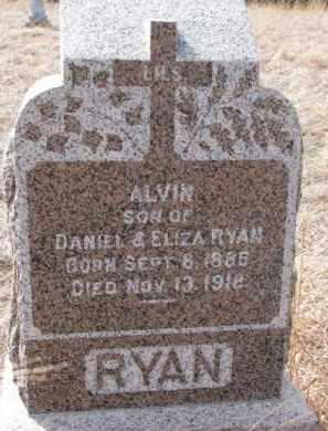 RYAN, ALVIN - Dixon County, Nebraska   ALVIN RYAN - Nebraska Gravestone Photos