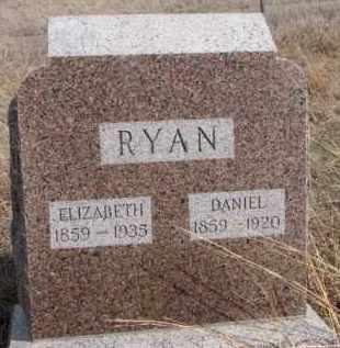 RYAN, DANIEL - Dixon County, Nebraska | DANIEL RYAN - Nebraska Gravestone Photos