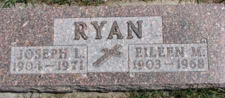 RYAN, JOSEPH L. - Dixon County, Nebraska   JOSEPH L. RYAN - Nebraska Gravestone Photos