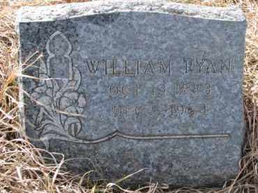 RYAN, WILLIAM - Dixon County, Nebraska | WILLIAM RYAN - Nebraska Gravestone Photos