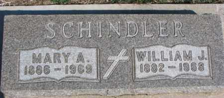 SCHINDLER, MARY A. - Dixon County, Nebraska   MARY A. SCHINDLER - Nebraska Gravestone Photos