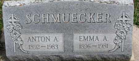 SCHMUECKER, ANTON A. - Dixon County, Nebraska   ANTON A. SCHMUECKER - Nebraska Gravestone Photos