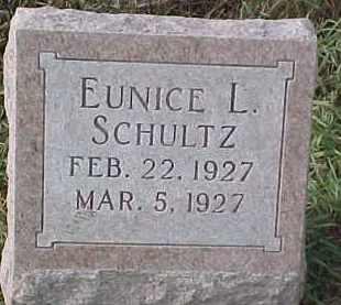 SCHULTZ, EUNICE L - Dixon County, Nebraska | EUNICE L SCHULTZ - Nebraska Gravestone Photos