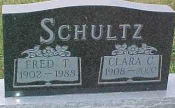 SCHULTZ, FRED T. - Dixon County, Nebraska | FRED T. SCHULTZ - Nebraska Gravestone Photos