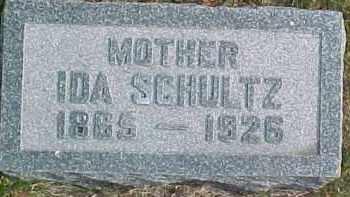 SCHULTZ, IDA - Dixon County, Nebraska | IDA SCHULTZ - Nebraska Gravestone Photos