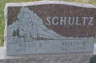 SCHULTZ, WILLIS L. - Dixon County, Nebraska | WILLIS L. SCHULTZ - Nebraska Gravestone Photos