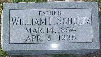 SCHULTZ, WILLIAM F. - Dixon County, Nebraska | WILLIAM F. SCHULTZ - Nebraska Gravestone Photos