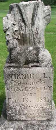 SHELEY, VINNIE L. - Dixon County, Nebraska | VINNIE L. SHELEY - Nebraska Gravestone Photos