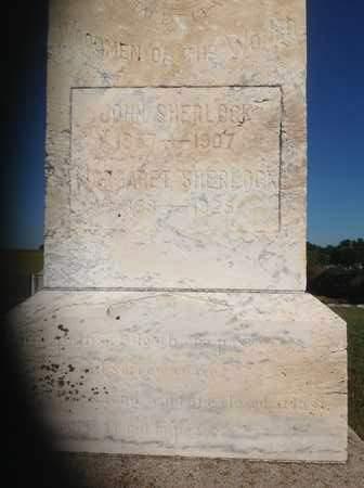 SHERLOCK, JOHN (CLOSEUP) - Dixon County, Nebraska | JOHN (CLOSEUP) SHERLOCK - Nebraska Gravestone Photos