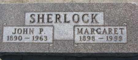 SHERLOCK, JOHN P. - Dixon County, Nebraska | JOHN P. SHERLOCK - Nebraska Gravestone Photos