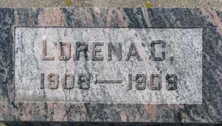 SHERLOCK, LORENA C. - Dixon County, Nebraska | LORENA C. SHERLOCK - Nebraska Gravestone Photos