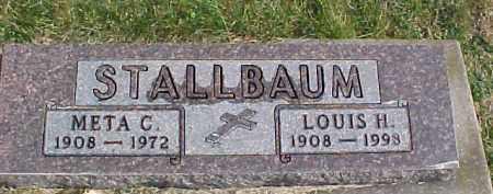 STALLBAUM, META C. - Dixon County, Nebraska | META C. STALLBAUM - Nebraska Gravestone Photos