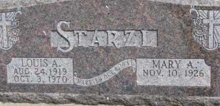 WATKINS STARZL, MARY A. - Dixon County, Nebraska | MARY A. WATKINS STARZL - Nebraska Gravestone Photos