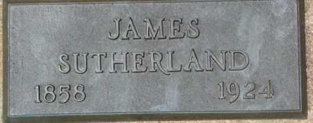 SUTHERLAND, JAMES - Dixon County, Nebraska   JAMES SUTHERLAND - Nebraska Gravestone Photos