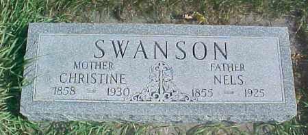 SWANSON, CHRISTINE - Dixon County, Nebraska   CHRISTINE SWANSON - Nebraska Gravestone Photos