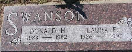 SWANSON, LAURA E. - Dixon County, Nebraska | LAURA E. SWANSON - Nebraska Gravestone Photos