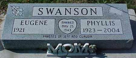 SWANSON, EUGENE - Dixon County, Nebraska   EUGENE SWANSON - Nebraska Gravestone Photos
