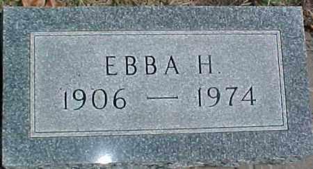 SWANSON, EBBA H. - Dixon County, Nebraska | EBBA H. SWANSON - Nebraska Gravestone Photos