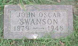SWANSON, JOHN OSCAR - Dixon County, Nebraska   JOHN OSCAR SWANSON - Nebraska Gravestone Photos