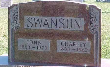 SWANSON, JOHN - Dixon County, Nebraska | JOHN SWANSON - Nebraska Gravestone Photos