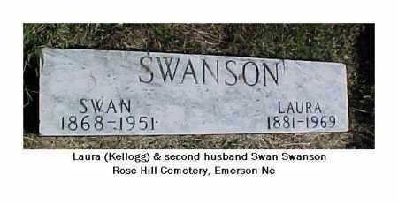 SWANSON, SWAN - Dixon County, Nebraska | SWAN SWANSON - Nebraska Gravestone Photos