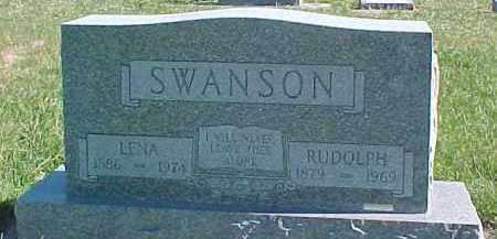 SWANSON, LENA - Dixon County, Nebraska   LENA SWANSON - Nebraska Gravestone Photos