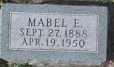 SWANSON, MABEL E. - Dixon County, Nebraska   MABEL E. SWANSON - Nebraska Gravestone Photos