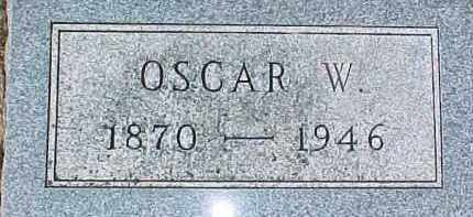SWANSON, OSCAR W. - Dixon County, Nebraska | OSCAR W. SWANSON - Nebraska Gravestone Photos