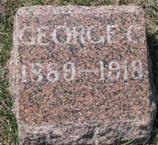 TELLER, GEORGE C. - Dixon County, Nebraska   GEORGE C. TELLER - Nebraska Gravestone Photos