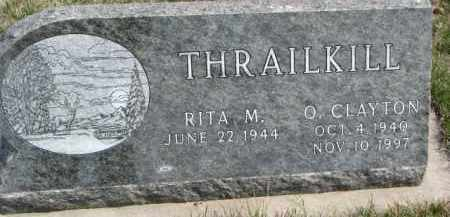 THRAILKILL, O. CLAYTON - Dixon County, Nebraska | O. CLAYTON THRAILKILL - Nebraska Gravestone Photos