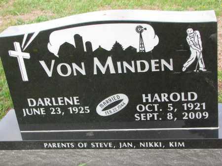VON MINDEN, DARLENE - Dixon County, Nebraska | DARLENE VON MINDEN - Nebraska Gravestone Photos