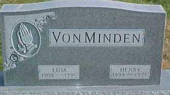 VON MINDEN, HENRY - Dixon County, Nebraska   HENRY VON MINDEN - Nebraska Gravestone Photos