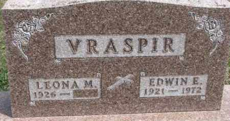 VRASPIR, LEONA M. - Dixon County, Nebraska   LEONA M. VRASPIR - Nebraska Gravestone Photos