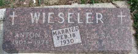 WIESELER, ANTON B. - Dixon County, Nebraska | ANTON B. WIESELER - Nebraska Gravestone Photos