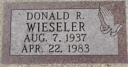 WIESELER, DONALD R. - Dixon County, Nebraska | DONALD R. WIESELER - Nebraska Gravestone Photos