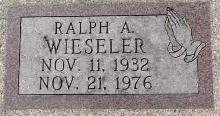 WIESELER, RALPH A. - Dixon County, Nebraska | RALPH A. WIESELER - Nebraska Gravestone Photos