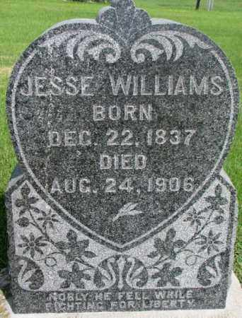 WILLIAMS, JESSE - Dixon County, Nebraska | JESSE WILLIAMS - Nebraska Gravestone Photos