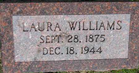 WILLIAMS, LAURA - Dixon County, Nebraska | LAURA WILLIAMS - Nebraska Gravestone Photos