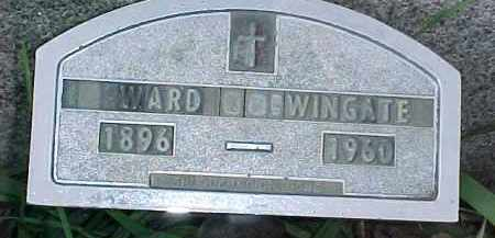 WINGATE, WARD - Dixon County, Nebraska | WARD WINGATE - Nebraska Gravestone Photos