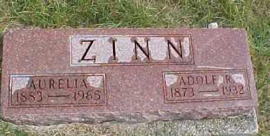 ZINN, ADOLF R. - Dixon County, Nebraska | ADOLF R. ZINN - Nebraska Gravestone Photos