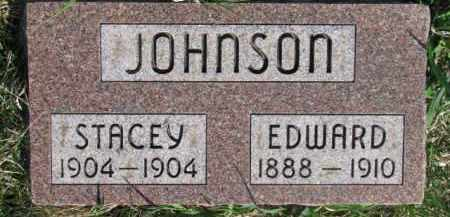 JOHNSON, EDWARD - Dodge County, Nebraska | EDWARD JOHNSON - Nebraska Gravestone Photos