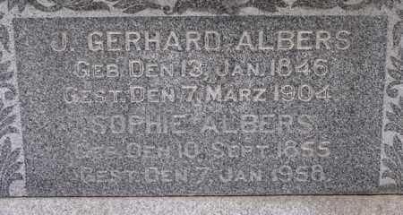 MEYER ALBERS, SOPHIE - Dodge County, Nebraska   SOPHIE MEYER ALBERS - Nebraska Gravestone Photos