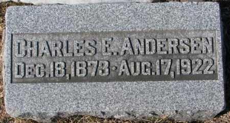 ANDERSEN, CHARLES E. - Dodge County, Nebraska   CHARLES E. ANDERSEN - Nebraska Gravestone Photos