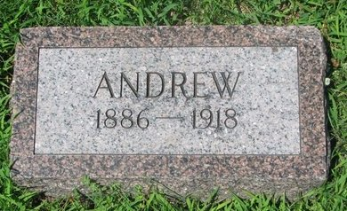 ANDERSON, ANDREW - Dodge County, Nebraska | ANDREW ANDERSON - Nebraska Gravestone Photos