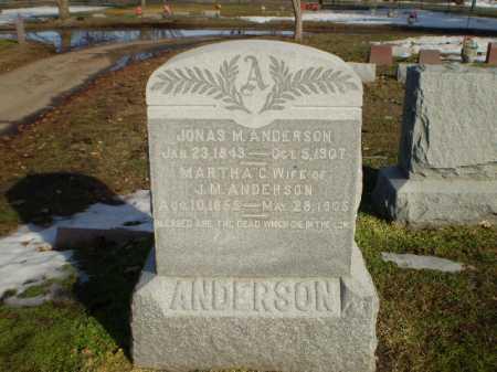 ANDERSON, MARTHA C - Dodge County, Nebraska | MARTHA C ANDERSON - Nebraska Gravestone Photos