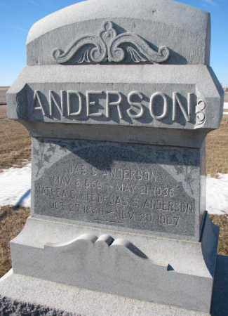 ANDERSON, MATHEA C. - Dodge County, Nebraska | MATHEA C. ANDERSON - Nebraska Gravestone Photos