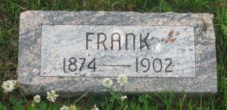 BAUER, FRANK - Dodge County, Nebraska | FRANK BAUER - Nebraska Gravestone Photos